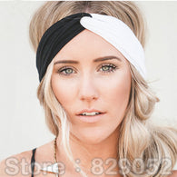 Patchwork Turban Headbands for Women Hair Accessory.