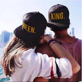 KING QUEEN Hip Hop Baseball Caps
