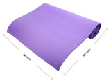 Yoga Exercise Mat Thick Non-slip Folding Gym Fitness Mat