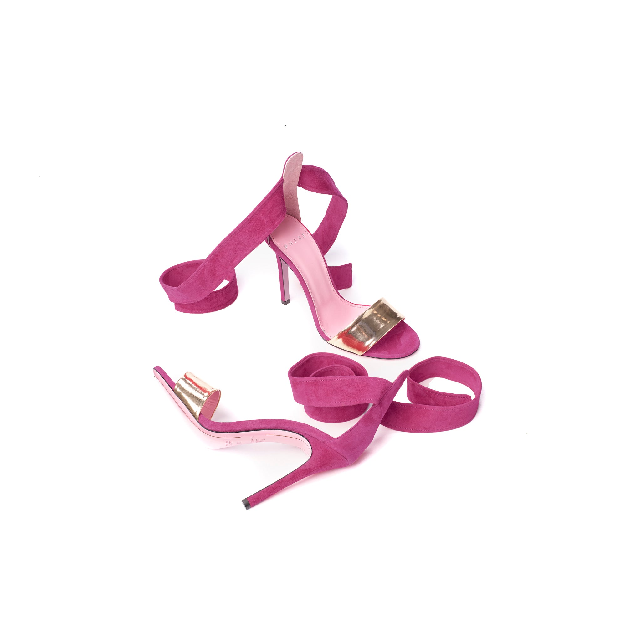 Ankle Tie Stiletto Sandal