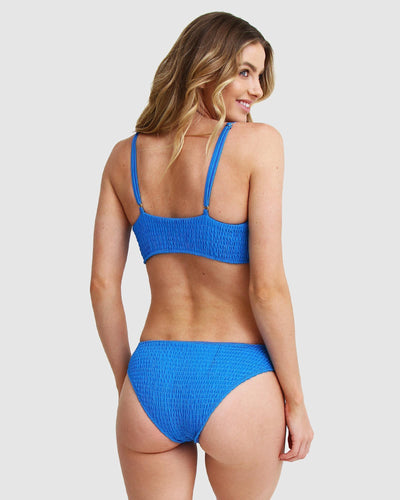 Blue bikini swim set for women