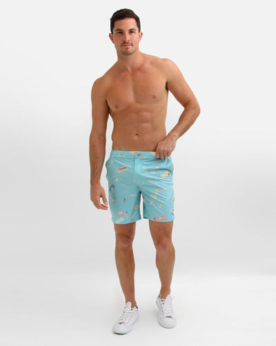 Model-wears-poolboy-light-blue-swim-shorts.jpg