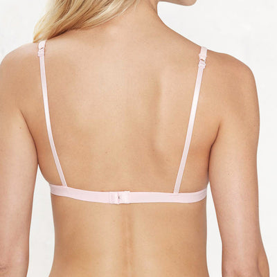 adjustable skinny straps back view bralette