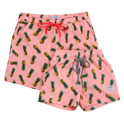 Men's and children's matching swim shorts