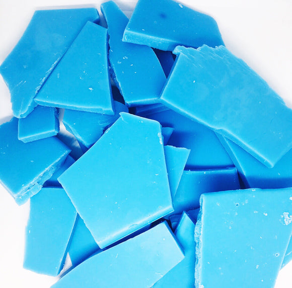 Blue jeans wax brittle