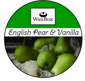 WaxBox wax melt - English pear & Vanilla