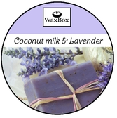 WaxBox wax melt - Coconut milk & Lavender