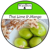 WaxBox wax melt - Thai lime & Mango
