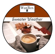 WaxBox wax melt - Sweater Weather