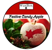 Festive candy apple