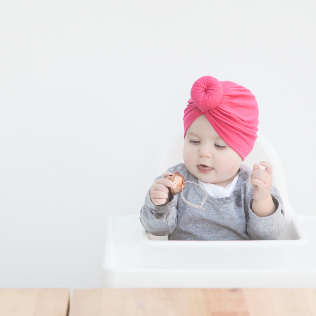 Top Knot Bonnet - Pink - Bullabaloo