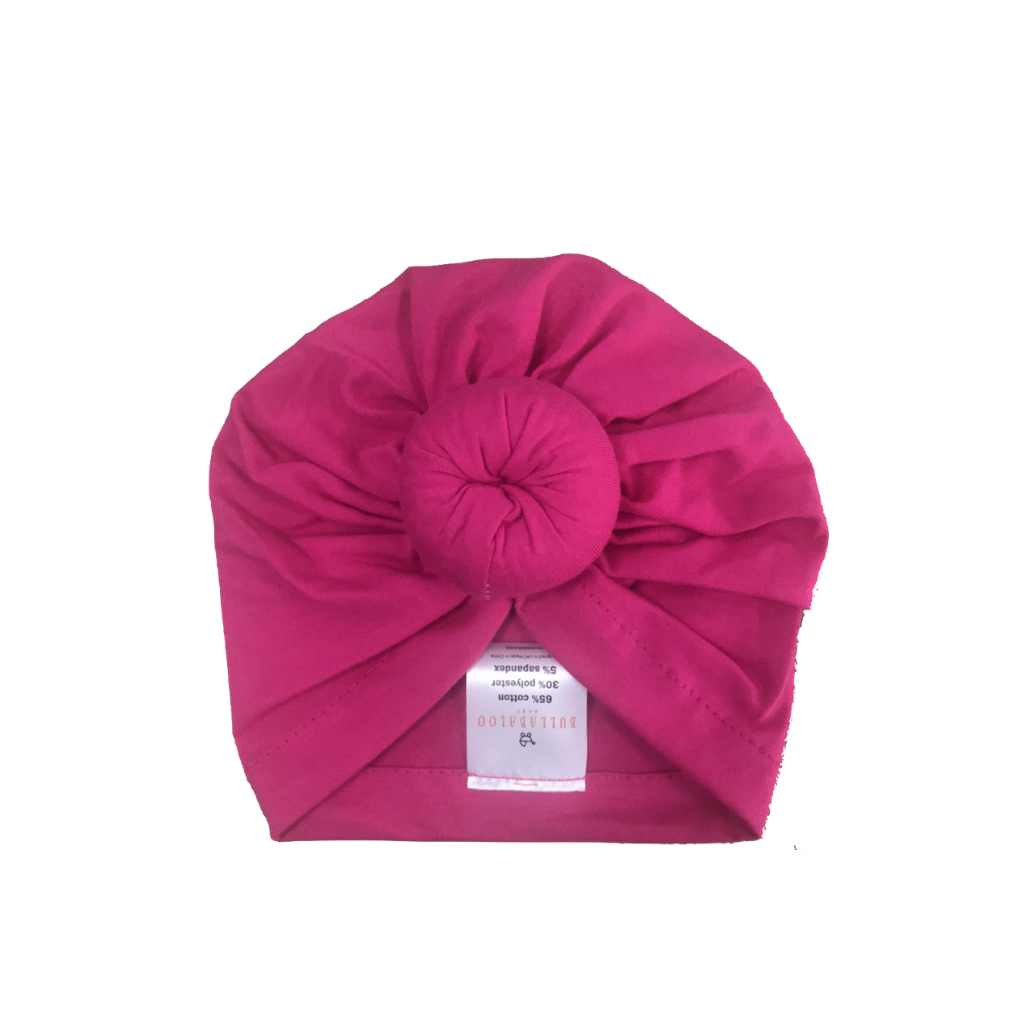 Top Knot Bonnet - Pink