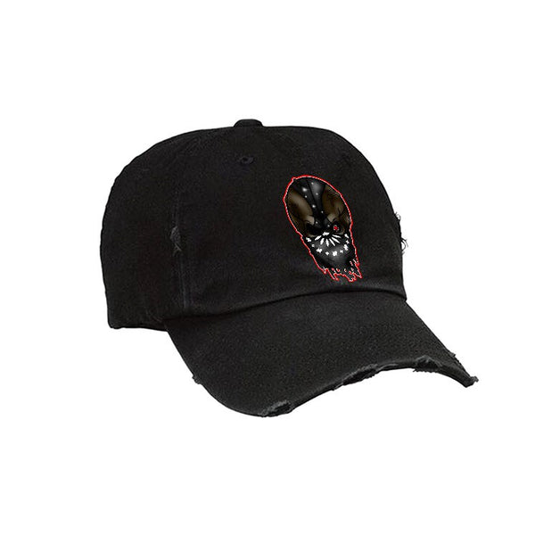 Official IllCurrency Hat Collection Black Hat (BALL SKULL)