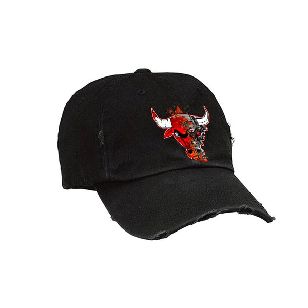 Official IllCurrency Hat Collection Black Hat (BULLMINATOR)