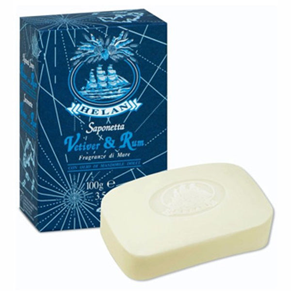 Vetiver + Rum Soap by Helan Natural (100g Bar) - LIMITLESSXL