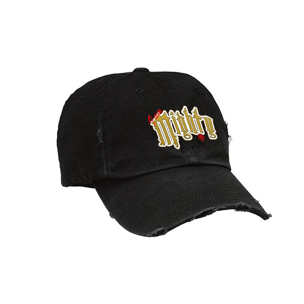 Official IllCurrency Hat Collection Black Hat (MIGHTY)