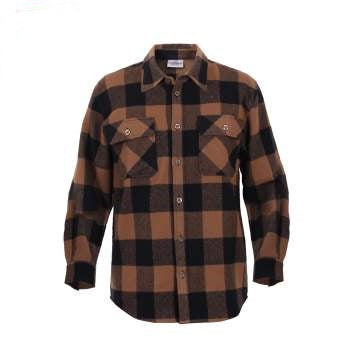 Extra Heavyweight Buffalo Plaid Flannel Shirt - LIMITLESSXL