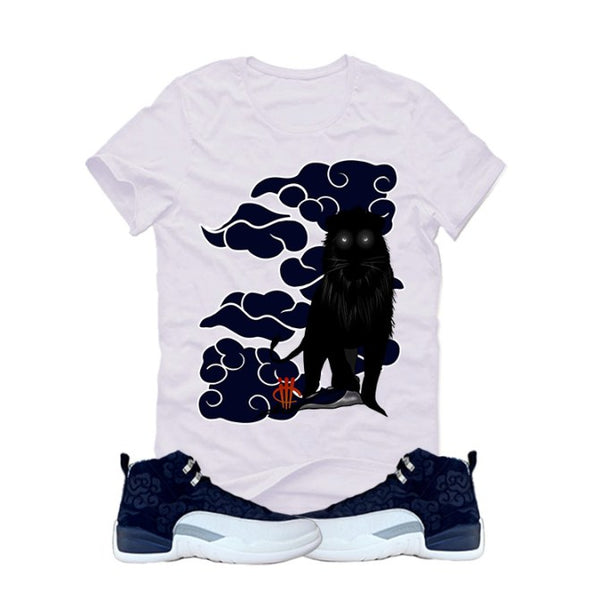 "Air Jordan 12 ""JAPAN"" Navy Blue T (Lion) - LIMITLESSXL"