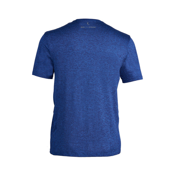 MEN'S SHORT SLEEVE ACTIVE GRAPHIC TOP – BOLT BLUE/BLACK
