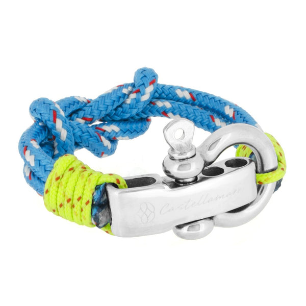 ANZIO DOUBLE KNOT BLUE STAINLESS STEEL - LIMITLESSXL