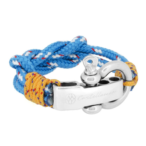 ANZIO DOUBLE KNOT BLUE II STAINLESS STEEL - LIMITLESSXL