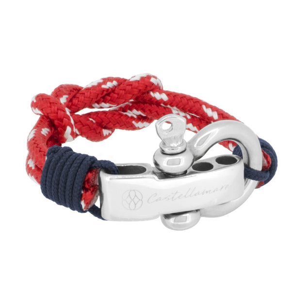 ANZIO DOUBLE KNOT RED III STAINLESS STEEL - LIMITLESSXL