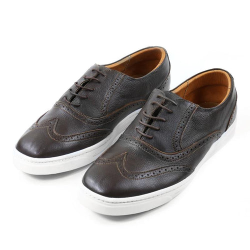 Caramelo Wingtip Sneakers - LIMITLESSXL