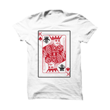 RED WHITE T SHIRT (CARD)