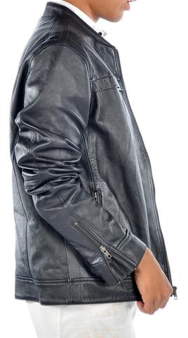 ABRAHAM MENS LEATHER JACKET - LIMITLESSXL