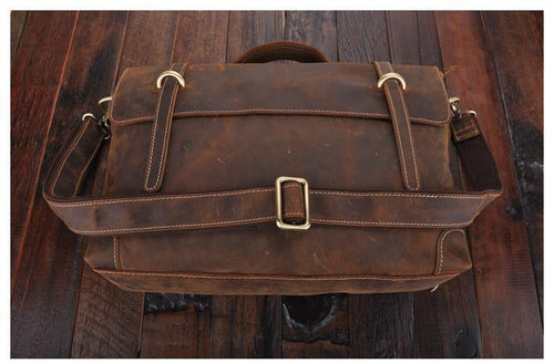 THE FRANCIS - LEATHER BRIEFCASE
