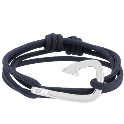 GAETA HOOK SOLID NAVY BLUE - LIMITLESSXL