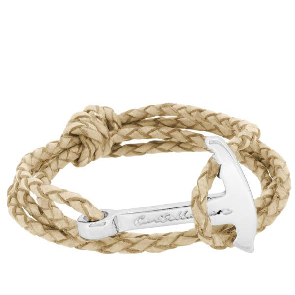 GAETA PIOLET CAMEL BRAIDED LEATHER - LIMITLESSXL