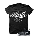 BLACK T SHIRT (HUSTLE BY ANY MEANS) - LIMITLESSXL