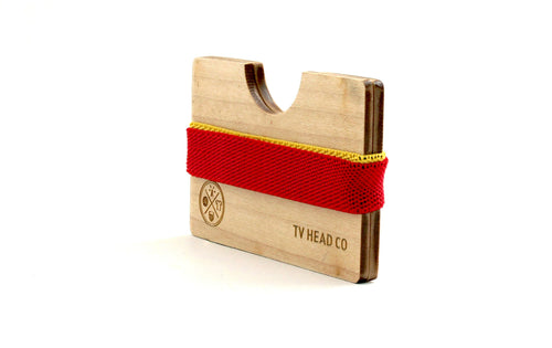 Wooden Wallet Maple - LIMITLESSXL