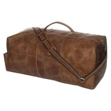 MR JOE - LEATHER MILITARY DUFFLE BAG 24