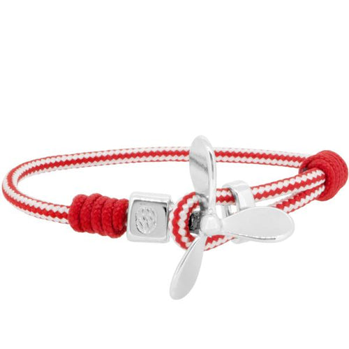 MARETTIMO RED WHITE ROPE