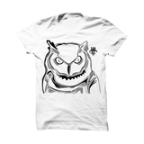 WHITE T (OWL SKETCH)