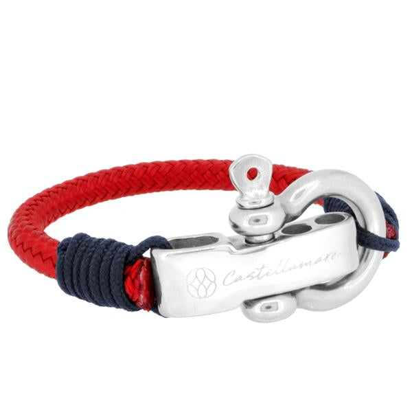 PORTOFINO RED SOLID NAVY BLUE STAINLESS STEEL