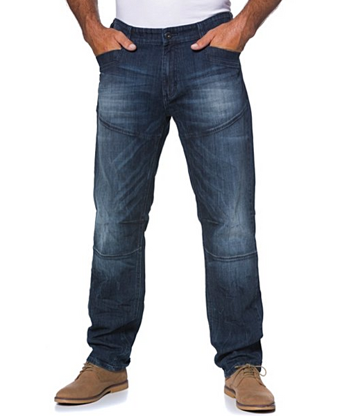 Loose Fit 5 Pocket Jeans