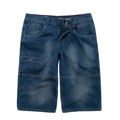 Denim Pocket Bermuda Shorts