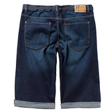 Denim Jogger Bermuda Knit Cotton Stretch Shorts - LIMITLESSXL