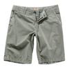 Flat Front Chino 4 Pocket Zip Front Soft Durable Cotton Shorts - LIMITLESSXL