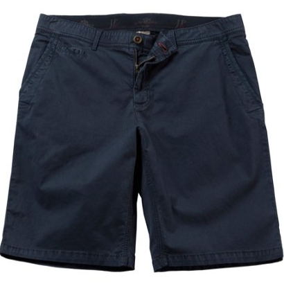 Comfortable Stretch Twill Bermuda Shorts - LIMITLESSXL