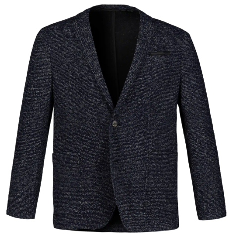 Sweater Classic Look Knit Blazer