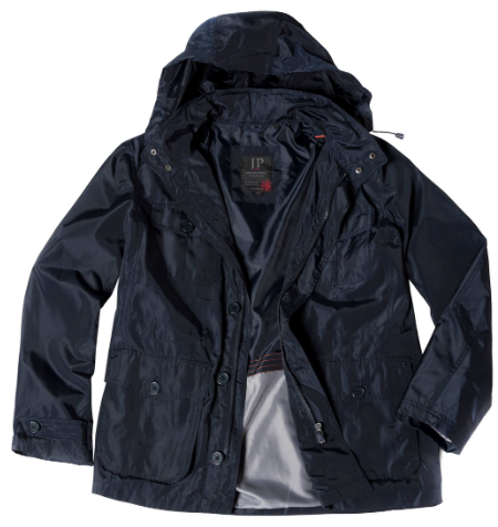 All Weather Hooded Trench Field Jacket