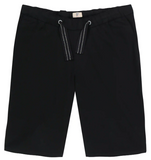 Adjustable Drawstring Elastic Waist Shorts