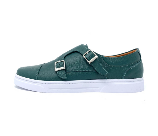 Cazador Double Monk Strap Sneakers