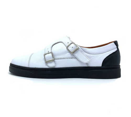 Yin Yang Double Monk Strap Sneakers