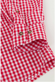 Gingham Check Chest Pocket Comfort Fit Cotton Shirt