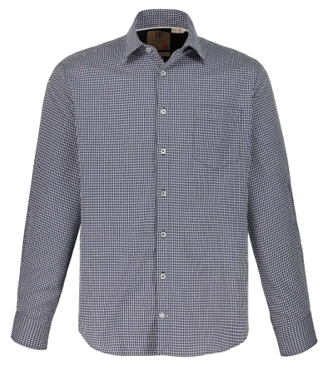 Check Modern Fit Cotton Shirt